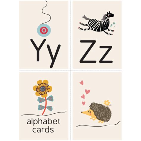 printable flash cards a z y z alphabet flash cards living and loving