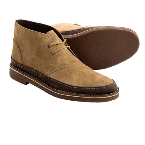 clarks mens chukka boots clarks bushacre rand chukka boots leather for in