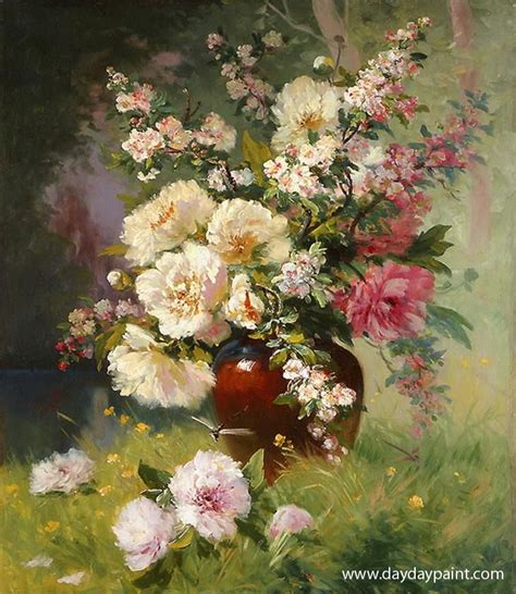paintings of flowers famous flower oil painting www pixshark com images