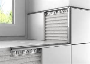 metal contract tile trim tileasy