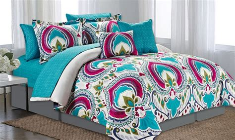 groupon comforter set printed comforter set groupon goods