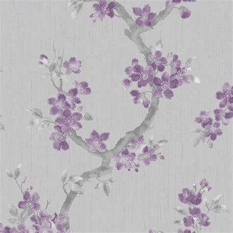purple flower wallpaper uk elegant purple flower wallpaper uk max pleasure