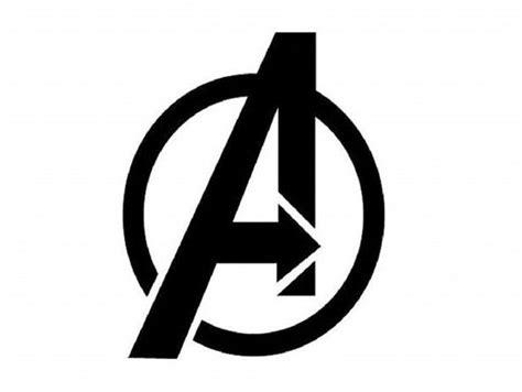 avengers logo  themakerkidmoffit thingiverse