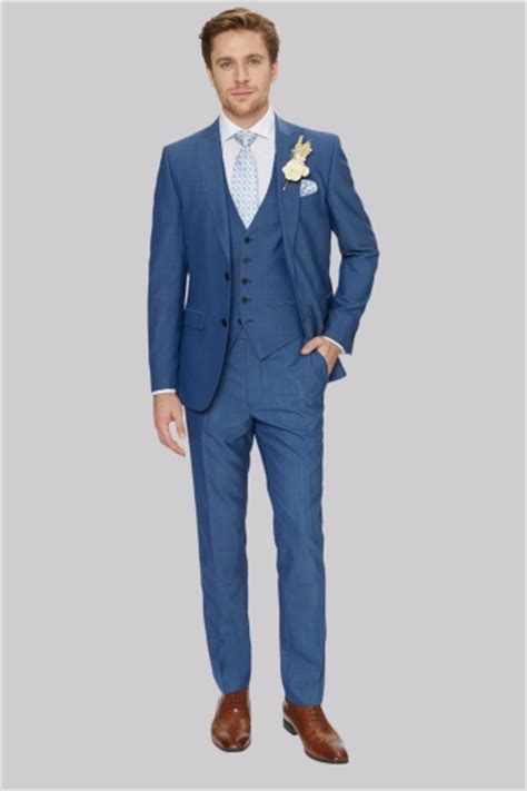 wearing a royal blue suit for wedding my wedding ideas men s wedding suit hire pieces from 163 42 moss hire
