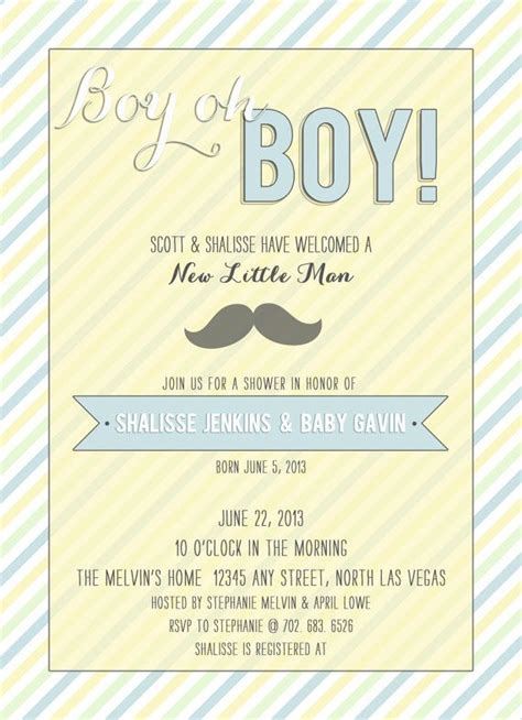 free printable photo birth announcements templates 52 best images about newborn birth announcements on