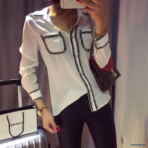 Sale Blouse High Quality cheap clothing slim and thin silk shirts high
