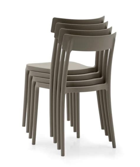 sedie impilabili prezzi sedia impilabili argo tortora hotelforniture
