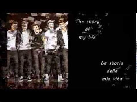 story of my testo one direction story of my testo e traduzione