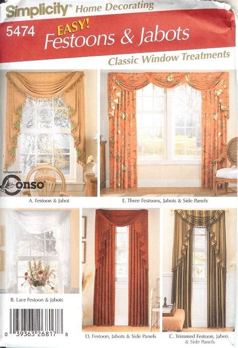 simplicity curtain patterns simplicity window treatment covering curtains drapes home