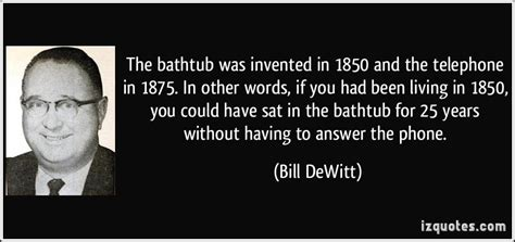 Who Invented The Bathtub The Bathtub Was Invented In 1850 And The Telephone In 1875