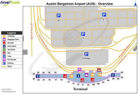 kaus airport diagram airport maps charts diagrams bergstrom