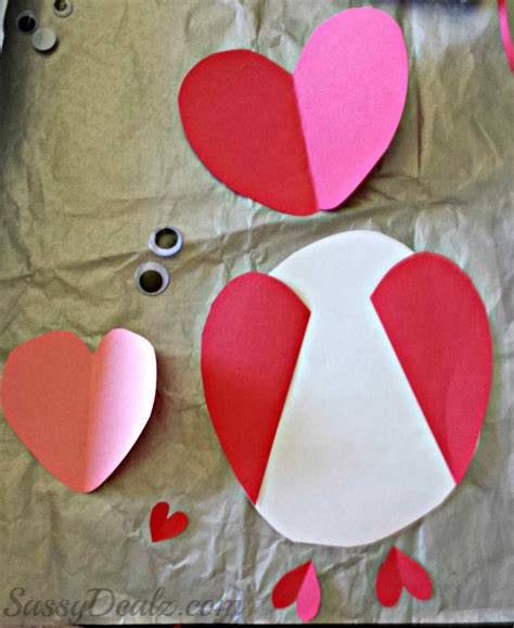 valentines day card for owl valentines day card idea for crafty morning