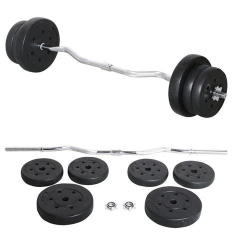 Barbell Weights 25kg olympic barbell dumbbell curl bar weight set lifting exercise new work out wear