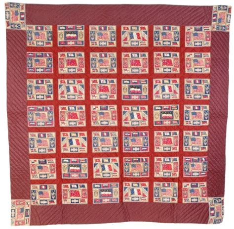 flags of the world quilt tobacco flannel flags of the world pieced quilt 1391015