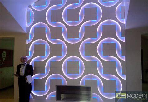Modern Design Led lit 3D Wall Panel Led 3dwalldecor, Led