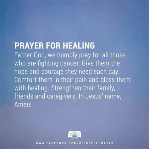 Comforting Words For A Friend With Cancer by Healing Quotes For Cancer Patients Quotesgram