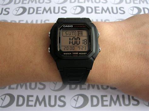 Casio Digital Pria W 800hg 9av jual jam tangan casio original w 800hg 9av 100 new