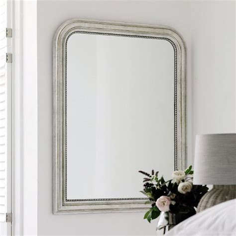 Mirrored Wall Sconces For Candles Madison Arched Wall Mirror Traditional Wall Mirrors