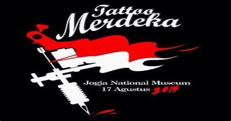tattoo merdeka jogja hut ke 71 ri perang tato digelar di yogya okezone lifestyle