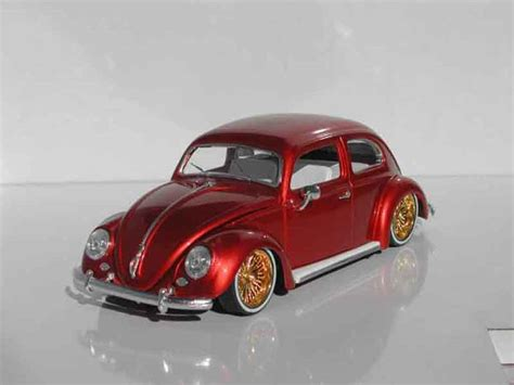 Diecast Miniatur Replika Volkswagen Beetle Rider volkswagen kafer cox ovale low rider burago diecast model