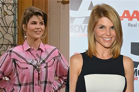 lori loughlin now and then then now the cast of full house
