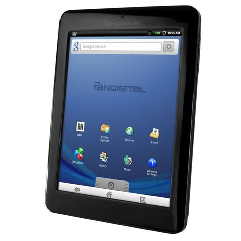 android ereader pandigital novel 7 quot android multimedia tablet r70e200