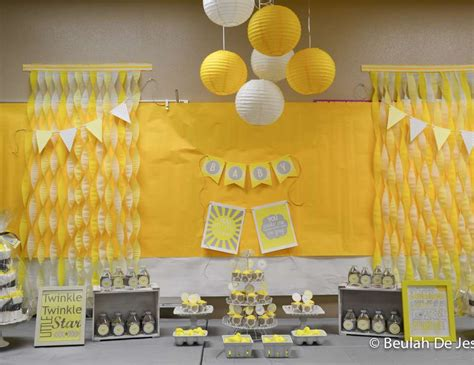 Yellow And White Baby Shower Ideas by Baby Shower Quot Yellow Gray White Shower