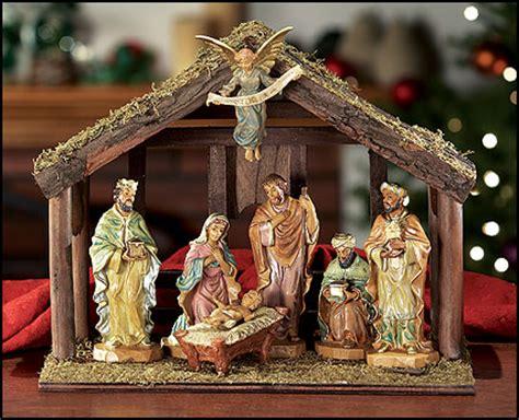 nativity statues catholics going trailer park pass