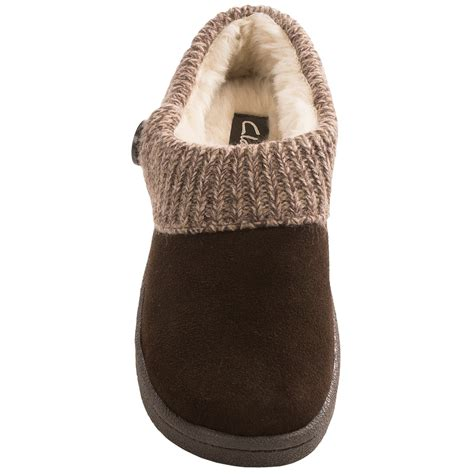 clarks womens slippers clarks sweater button clog slippers for save 40