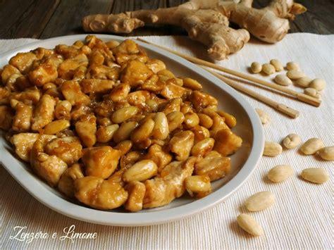 cucina cinese pollo alle mandorle pollo alle mandorle zenzero e limone