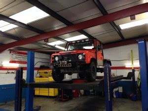 Garage Derby by V8 Land Rover Defender Needed A Lot Of Welding Before