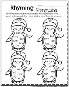 december preschool worksheets worksheets penguins and january kindergarten worksheets kindergarten worksheets
