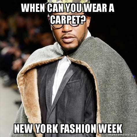Fashion Meme - nyfw a meme based guide to new york fashion week