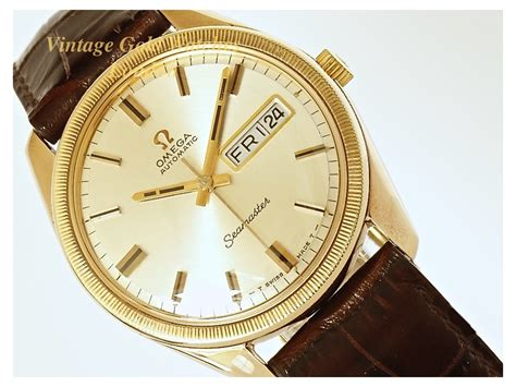 omega seamaster oversize 9ct day date 1968 sorry now
