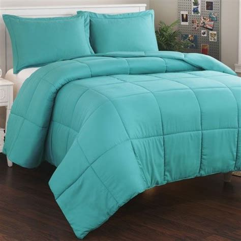 solid color comforter micro fiber teal mini comforter set master bedroom