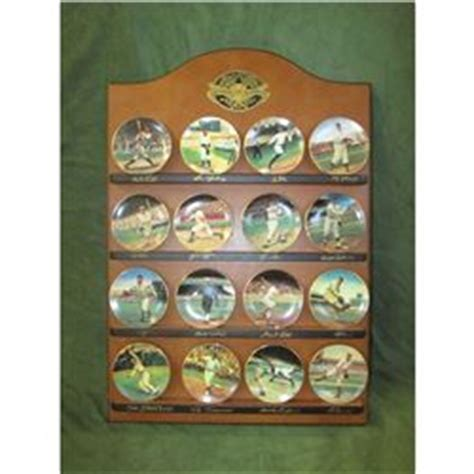 Display Shelf For Plates by Bradford Editions Legends Of Baseball Mini Collector