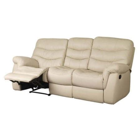sweet dream sofa sweet dreams ayla 3 seater recliner sofa cream