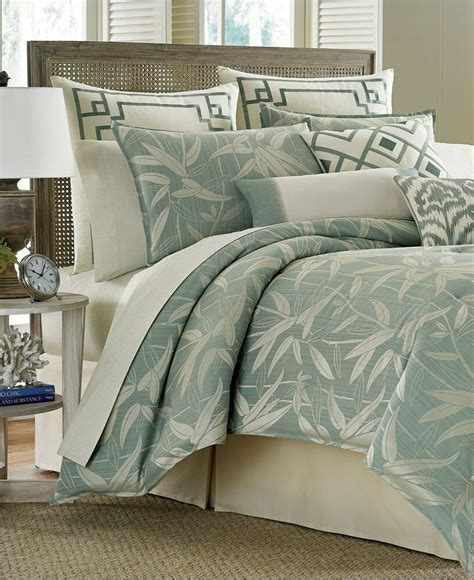 bamboo bedding set bahama bamboo cal king comforter set pale aqua msrp 335 o741 ebay