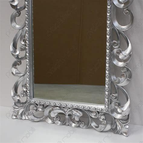 cornici como specchiera barocco con cornice in legno massello