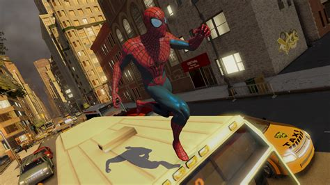 web swinging games amazing spider man 2 footage shows web swinging combat