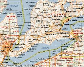 map of southwestern ontario canada travel ontario not on terrible at all the