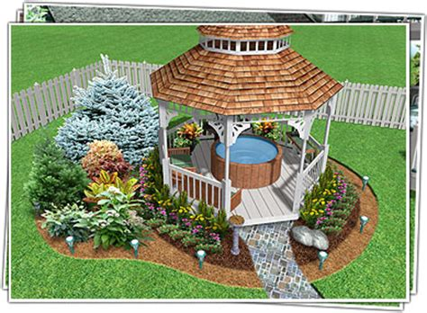 Backyard Landscaping Software by Landscape Design Software By Idea Spectrum Realtime