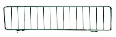 Gondola Shelf Dividers by 3 Quot X 10 25 Quot Gondola Fence Shelf Divider