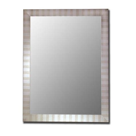 silver framed bathroom mirrors hitchcock butterfield 18 quot x 36 quot parma silver framed wall