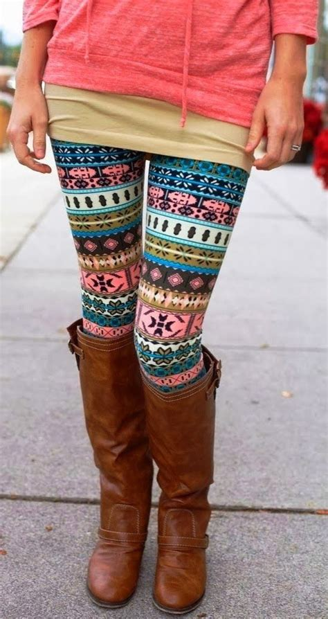 patterned tights boots fashion for fall cute colorful patterned tights with