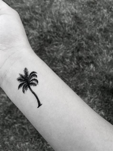 small palm tree tattoos 334 best images about on
