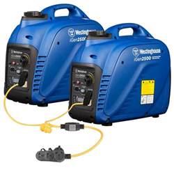westinghouse 5 000 watt parallel gas powered inverter