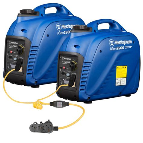 westinghouse 5 000 watt parallel gas powered inverter