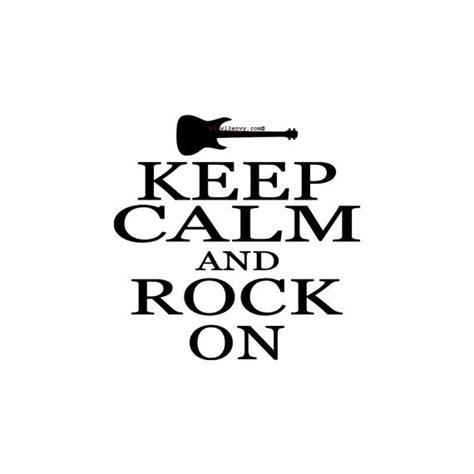 Keep Calm Rock On Oceanseven keep calm and rock on vinyl wall decal wall decals