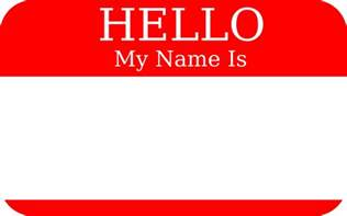 clipart hello my name is clipartfest hello my name is